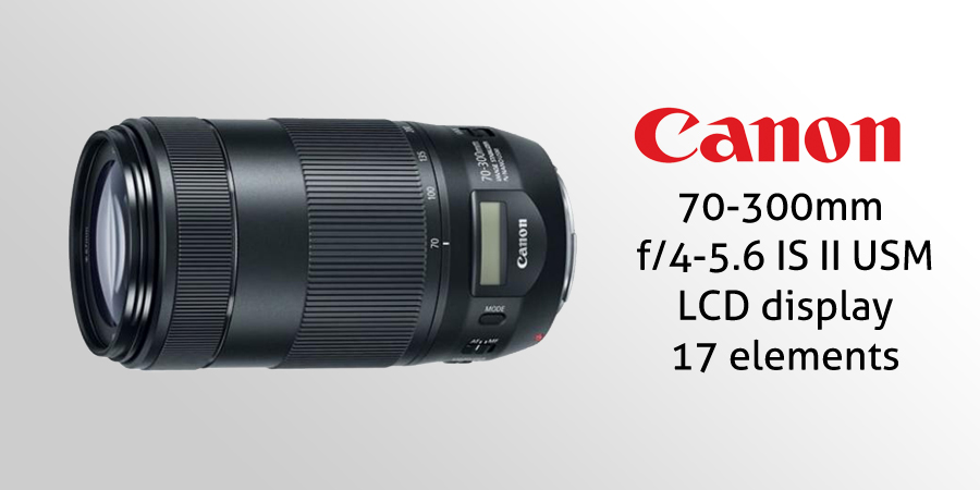 Canon 70-300mm F4-5.6 IS USM II